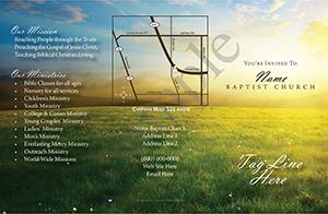 Grass and sun Baptist Tract