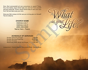 What is Your Life? Baptist Tract