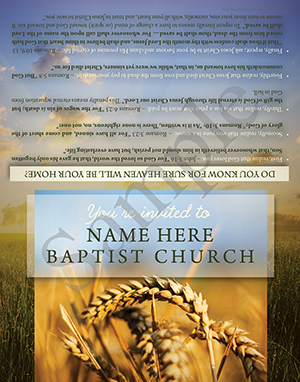 Invited to Baptist Tract Sample